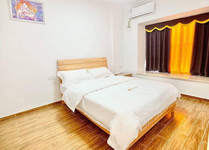 富力养生谷一房一厅特色公寓