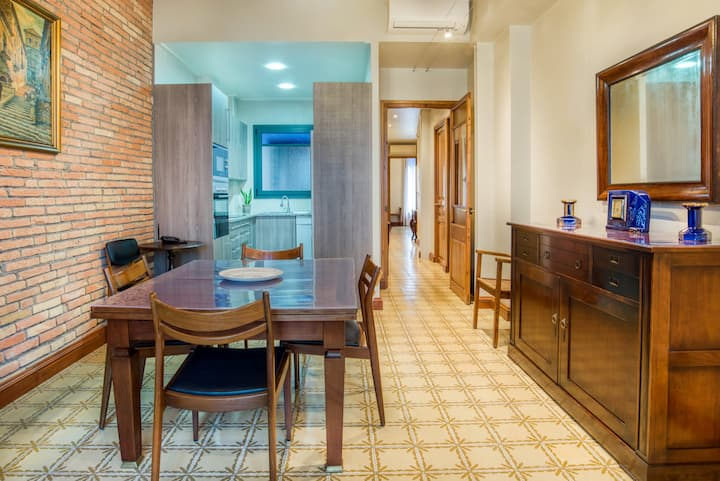 Gran pis modernista-Residencial i cèntric/112m2 1r