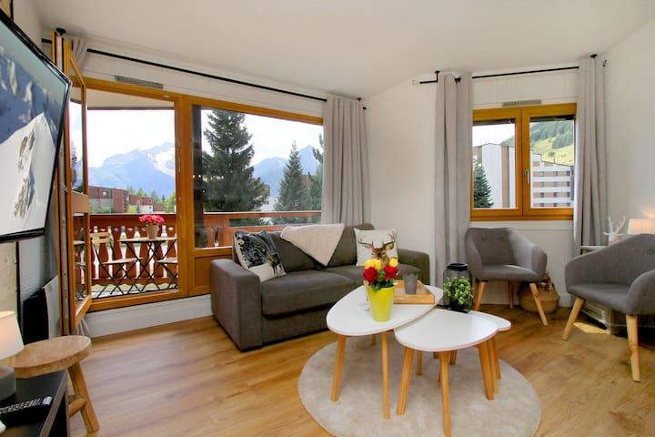Les 2 Alpes Pieds des pistes/coeur station/Balnéo