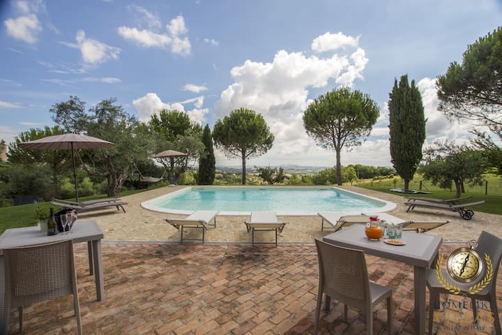 Villa Gioia,enjoy staying together again in nature