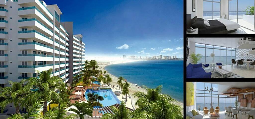 Torre Oceanica Vista al mar 2 Dormi - Santa Elena - Appartement