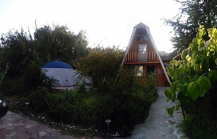 Cabaña Alpina en centro de Peña de Bernal Qro. - Bernal - Cabaña