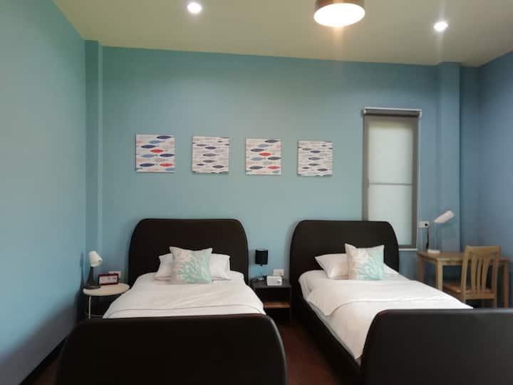 Morinaka Nutsu Room (ห้องเตียงแฝด)