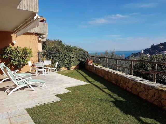 Tuscany sea and countryside