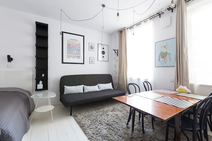 Cozy architect's apartment on Jeżyce