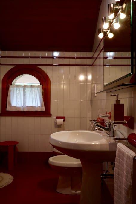 Bed&Breakfast La Pecora Nera - Belluno IT Bagno privato esterno