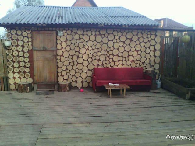 Домик в березовой роще - Slavkovo - Huis
