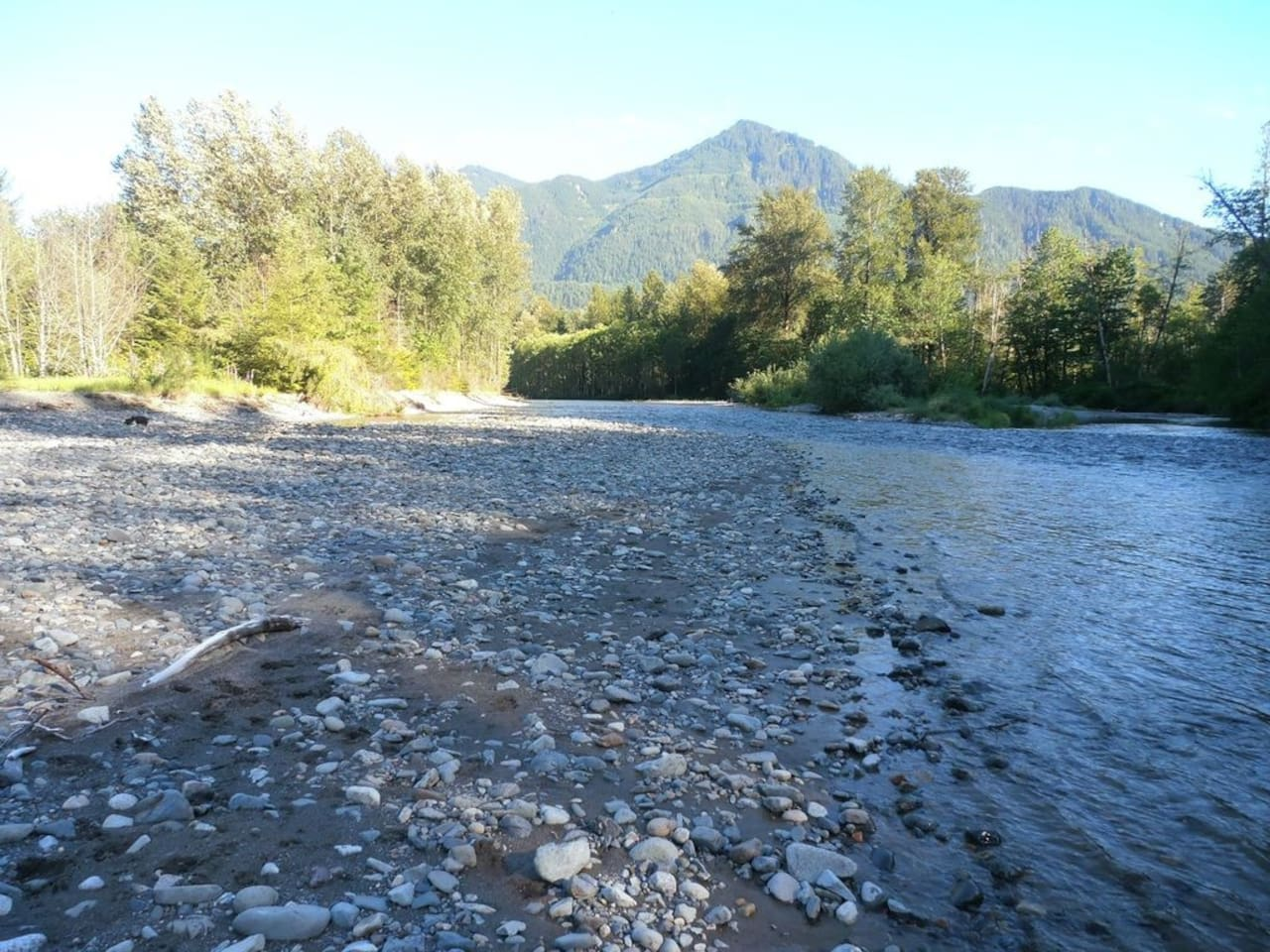 Camping Retreat at Christmas Creek - Snoqualmie river runs along the west side of the property