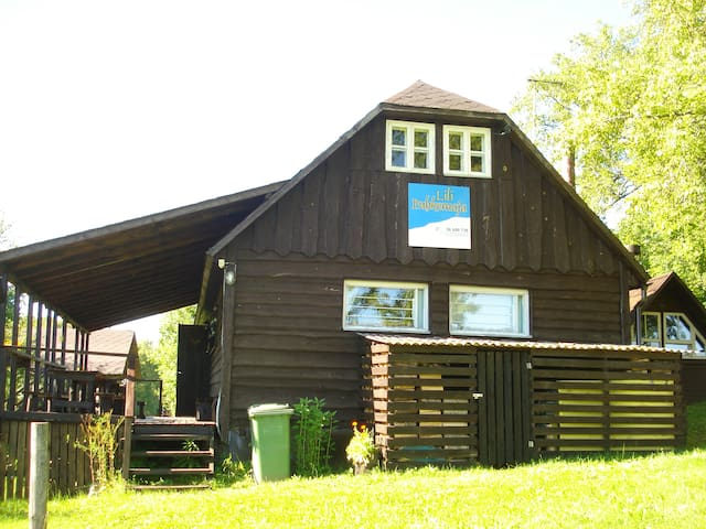 Lili holliday house,50m sky center - Otepää Parish