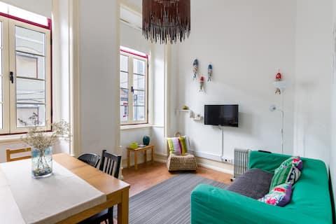 Przytulny apartament w centrum miasta