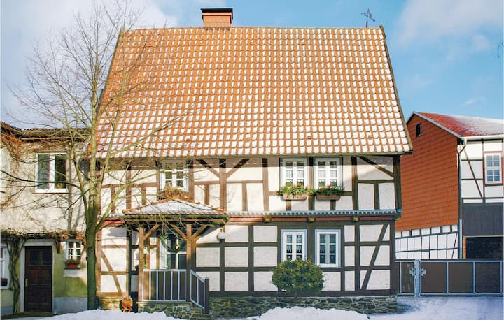 Amazing home in Harzgerode/Dankerode with WiFi and 3 Bedrooms