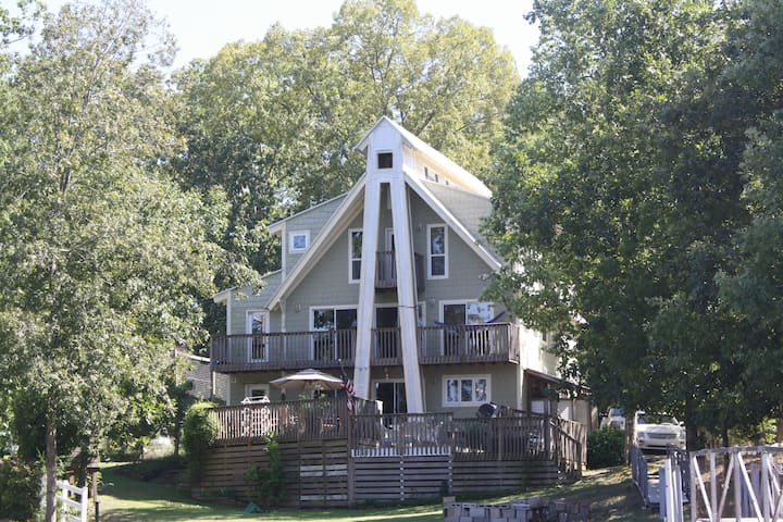 Beach House on the Lake - Cullman - Talo