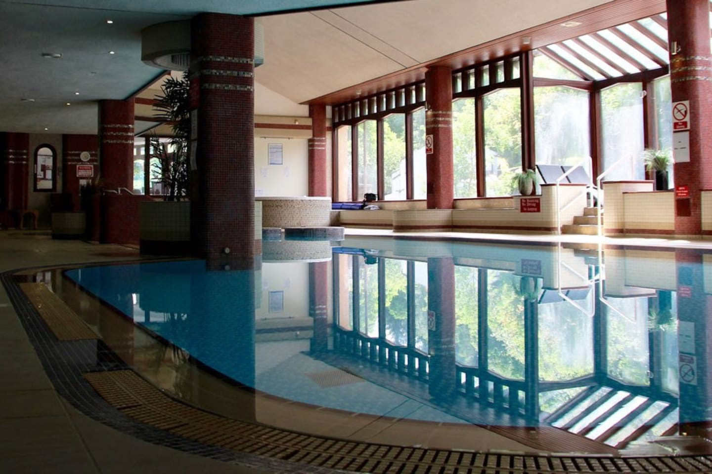 cascades heated indoor pool, jacuzzi, steam room, sauna, gymnasium all available during your stay...