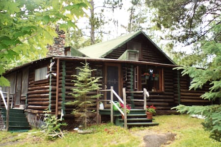 Ultimate Log Cabin Experience on a Lake - Duluth - Chalet