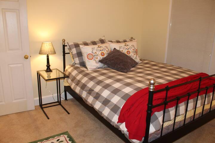Cozy second floor bedroom