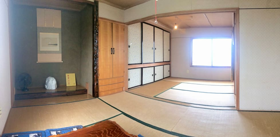 Private onsen in the house, 5 people room