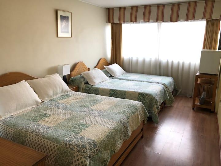 Comodidad y Confort, Habitacion familar, 4 pers.