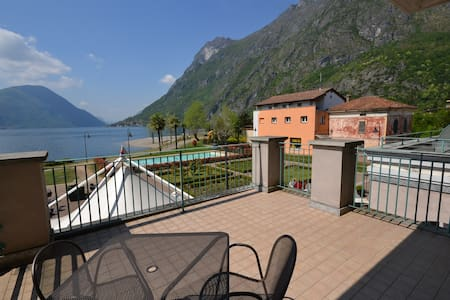 Cosy Studio Lugano lakeview - Porlezza