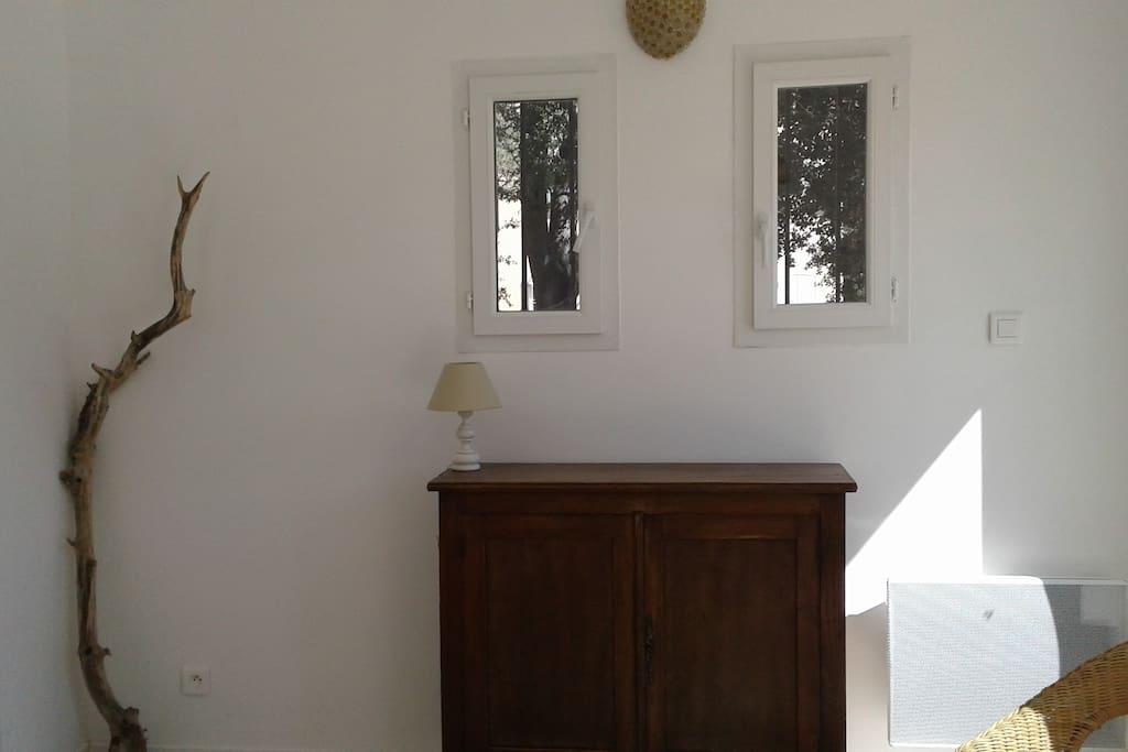 vue du salon /cuisine