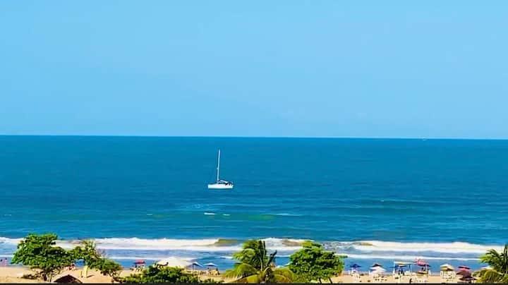 """""""Flat Sonhos"""". O mais charmoso da Orla de Aracaju."""