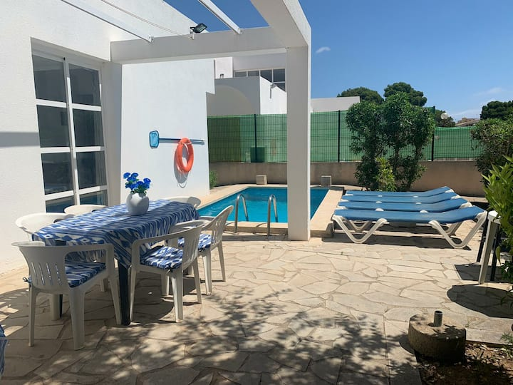 can picafort villa with swimming pool