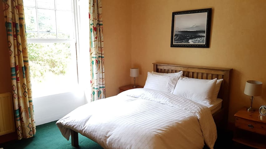 Double bedroom in mansion near town centre (2/2)