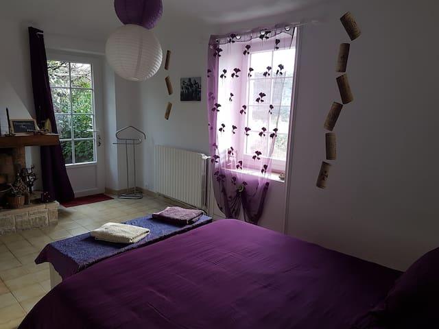 Chambre d'hôte Vigne Ardèche - Banne - Bed & Breakfast