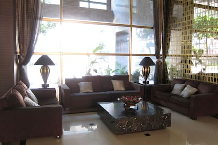 Luxury apartment with two rooms near the MRT - Zhonghe District - Kondominium