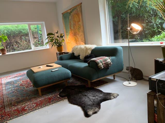 Room in cute house in Baarn (near A'dam)