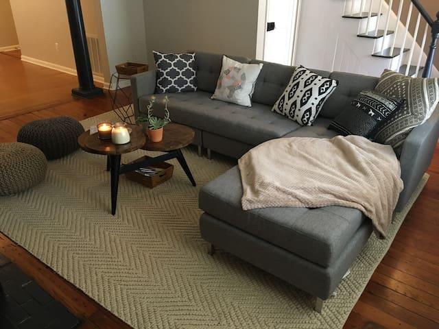 Modern comfort in historic downtown Fredericksburg