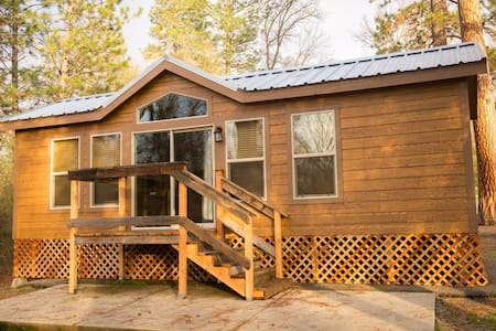 Brand New Yosemite Wood Cabin 1 - Ahwahnee - Blockhütte