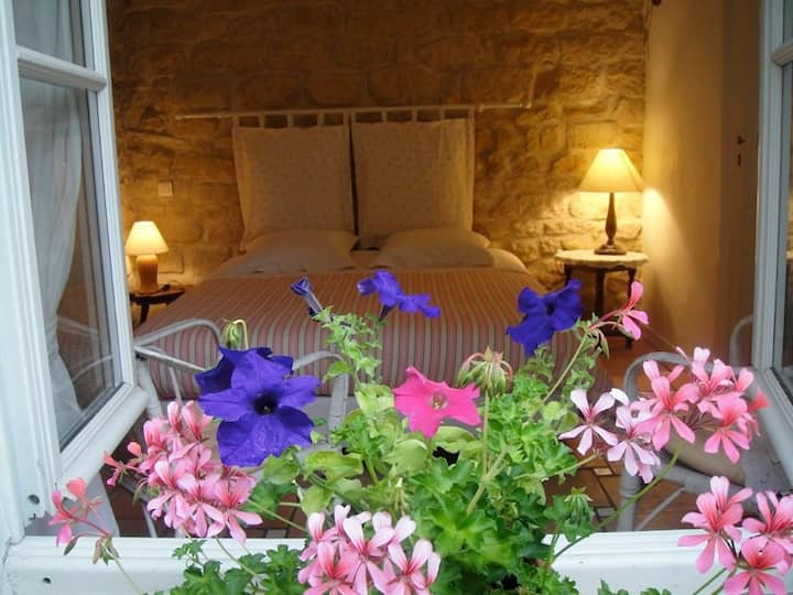 3 Beds and Bathrooms B&B, with a garden in Paris.