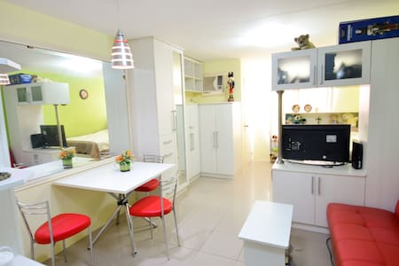 Cebu Condo w/ High Speed Internet -newly connected - Mandaue City - Appartement