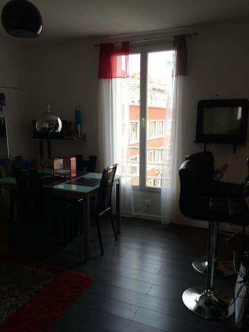 Appartement à 5 minutes de Paris