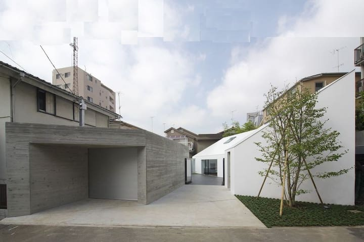 Designed luxury home/Free parking/Near HND/Ikegami