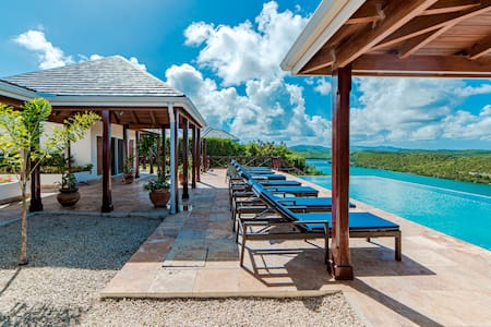 Villa Nonsuch Antigua -  Sunrise & Sunset views