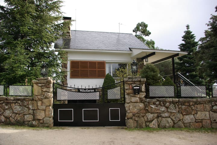 Villa Karina, vivir la naturaleza en Valdemanco - Valdemanco - Huvila