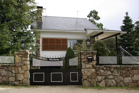 Villa Karina, vivir la naturaleza en Valdemanco - Valdemanco