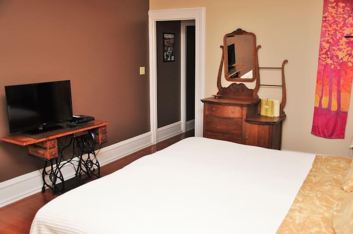 King Suite- Historic Jim Thorpe - Jim Thorpe - Bed & Breakfast