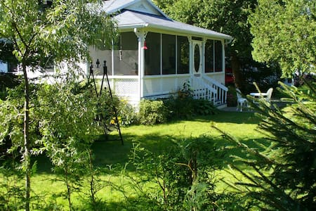 Chalet Canadien, à deux pas du lac St Joseph. - Fossambault-sur-le-Lac - Chalet