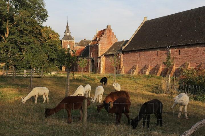Vakantiewoning op Kasteel Nieuwenhoven 5 pers.