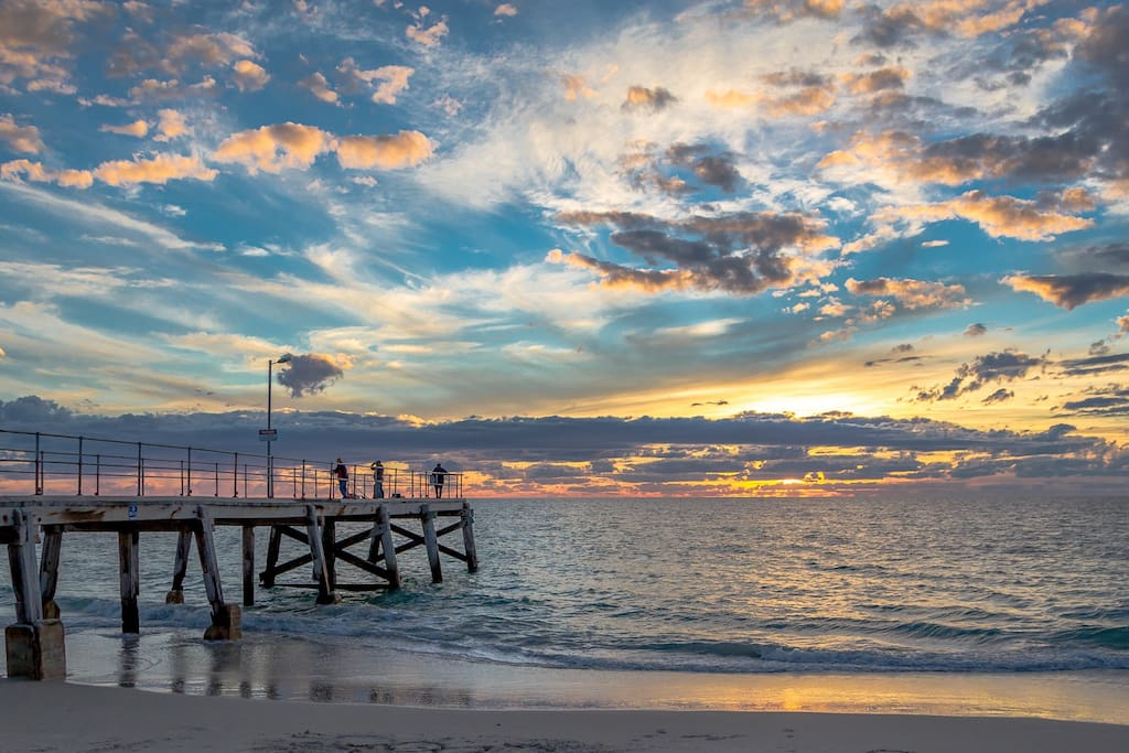 Normanville Jetty and beach