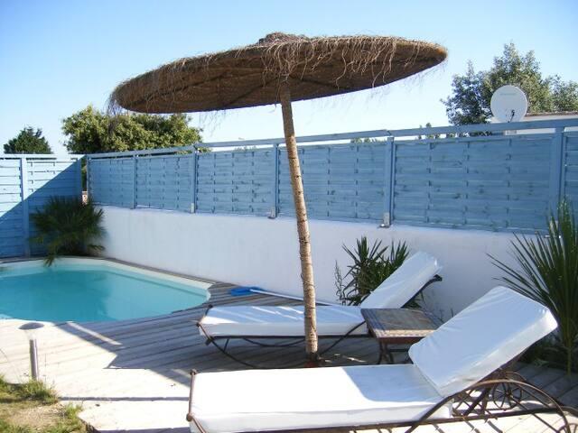 Villa Alisée -Oleron- piscine privée proche plage