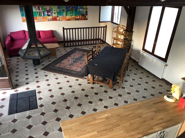 Chambre 3 proche château et centre ville