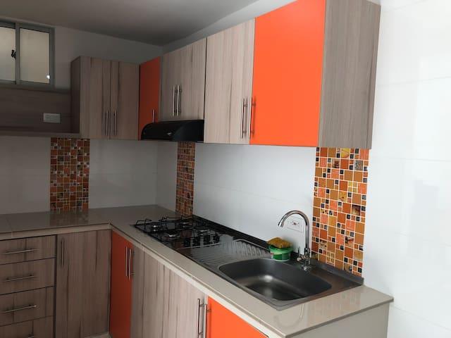 Apartamento nuevo en Conjunto Cerrado