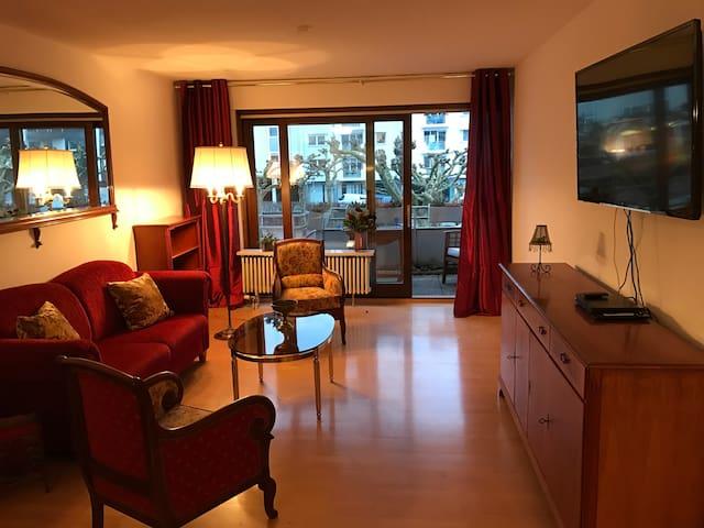 Elegante Wohnung Nähe Schloß - Saarbrücken - Apartamento