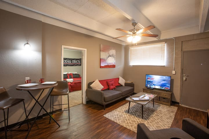{The Central Apartment} TTU • 1BR • Great Location