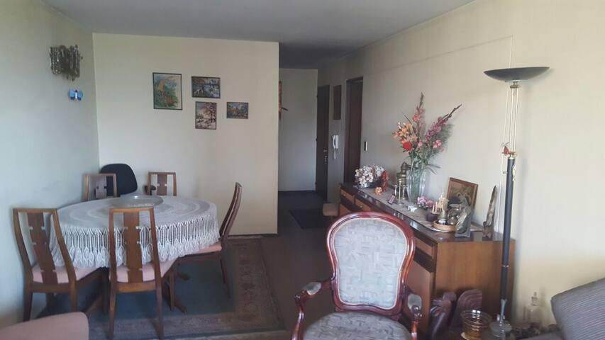 Comfortable room in a good location - Las Condes - Apartemen