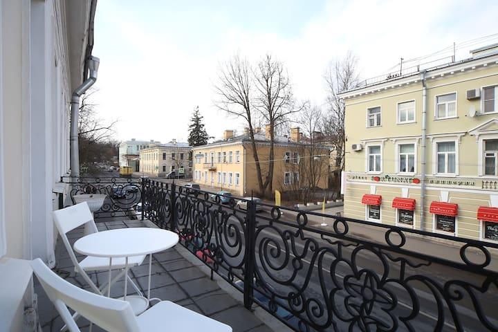 Квартира в центре рядом с парком и дворцами - Pushkin - Serviced apartment