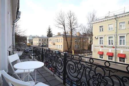 Квартира в центре рядом с парком и дворцами - Pushkin - Aparthotel
